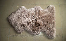 Шкурка серо фиолетового цвета, купить овчину Киев