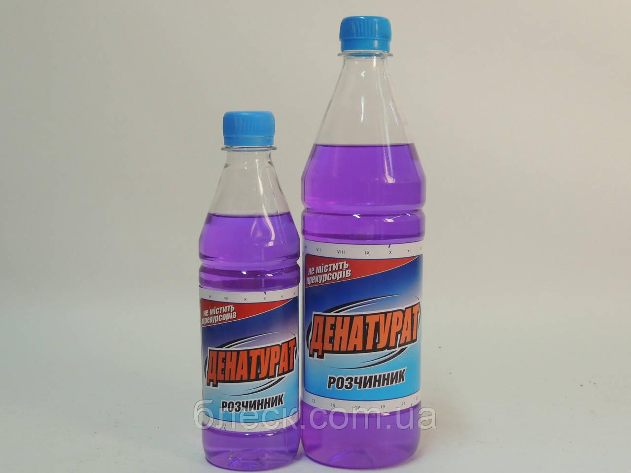"Денатурат ""БЛИСК"" 0,34 кг (пляшка ПЕТ 0,4 л)"