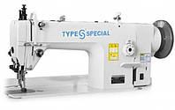 Type Special S-F01/0303D беспосадочная машина з крокуючою лапкою і прямим приводом