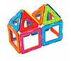 Детский магнитный конструктор - Магнитные блоки 40 шт, фото 4