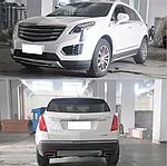 Cadillac XT5 Передняя и задняя накладки (2 шт)
