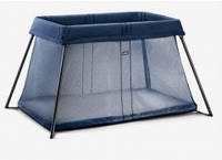 Манеж-кровать BabyBjorn Light, цвет темно-синий