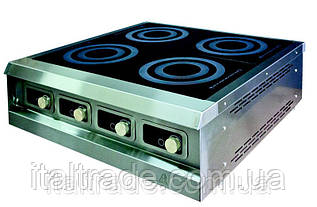 Индукционная плита настольная 4 конфорки по 1,8 кВт