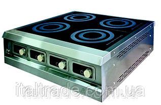 Индукционная плита настольная 4 конфорки по 3,5 кВт