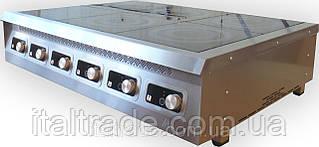 Индукционная плита настольная 6 конфорок по 3,5 кВт