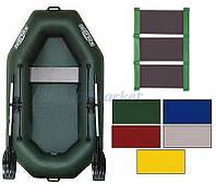 Kolibri Акция! Лодка надувная гребная Kolibri К-220 цветная или комбинированная и слань-коврик. В подарок любые аксессуары к лодке на сумму 3% от