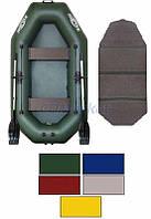Kolibri Акция! Лодка надувная гребная Kolibri К-240 цветная или комбинированная и слань-книжка. В подарок любые аксессуары к лодке на сумму 3% от