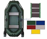 Kolibri Акция! Лодка надувная гребная Kolibri К-240 цветная или комбинированная и слань-коврик. В подарок любые аксессуары к лодке на сумму 3% от