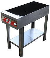Индукционная плита напольная 2 конфорки по 1,8 кВт