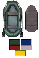 Kolibri Акция! Лодка надувная гребная Kolibri К-260Т цветная или комбинированная и слань-книжка. В подарок любые аксессуары к лодке на сумму 3% от