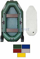 Kolibri Акция! Лодка надувная гребная Kolibri К-260Т цветная или комбинированная и air-deck. В подарок любые аксессуары к лодке на сумму 3% от