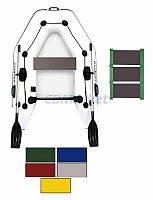 Kolibri Акция! Лодка надувная моторная Kolibri КМ-200 цветная или комбинированная и слань-коврик. В подарок любые аксессуары к лодке на сумму 3% от