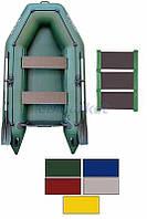Kolibri Акция! Лодка надувная моторная Kolibri КМ-260 цветная или комбинированная и слань-коврик. В подарок любые аксессуары к лодке на сумму 3% от