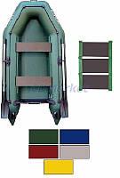 Kolibri Акция! Лодка надувная моторная Kolibri КМ-280 цветная или комбинированная и слань-коврик. В подарок любые аксессуары к лодке на сумму 3% от