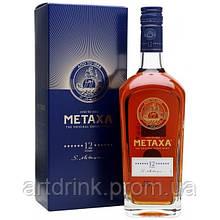 Бренди Metaxa 12* (Метакса 12 лет) 0.7л