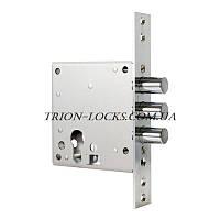 Замки для металлических дверей врезной дополнительный под евроцилиндр BORDER ЗВ1-8Г аналог 32.01