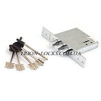 Замки для металлических дверей врезной дополнительный сувальдный BORDER ЗВ8-8Г/15 аналог 30.01