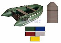 Kolibri Акция! Лодка надувная моторная Kolibri КМ-300DL цветная или комбинированная и слань книжка. В подарок любые аксессуары к лодке на сумму 3% от