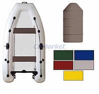 Kolibri Акция! Лодка надувная моторная Kolibri КМ-330DL цветная или комбинированная и слань книжка. В подарок любые аксессуары к лодке на сумму 3% от