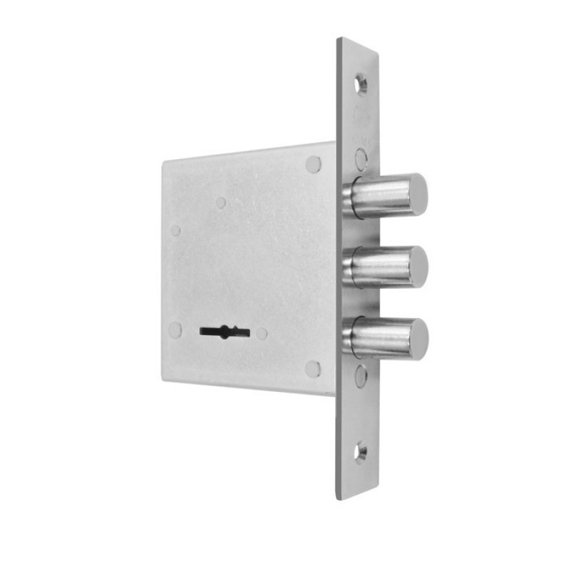 Замки для металлических дверей врезной Рязань ЗВ8-8Д/15 без уключины (аналог Гардиан 10.01 )
