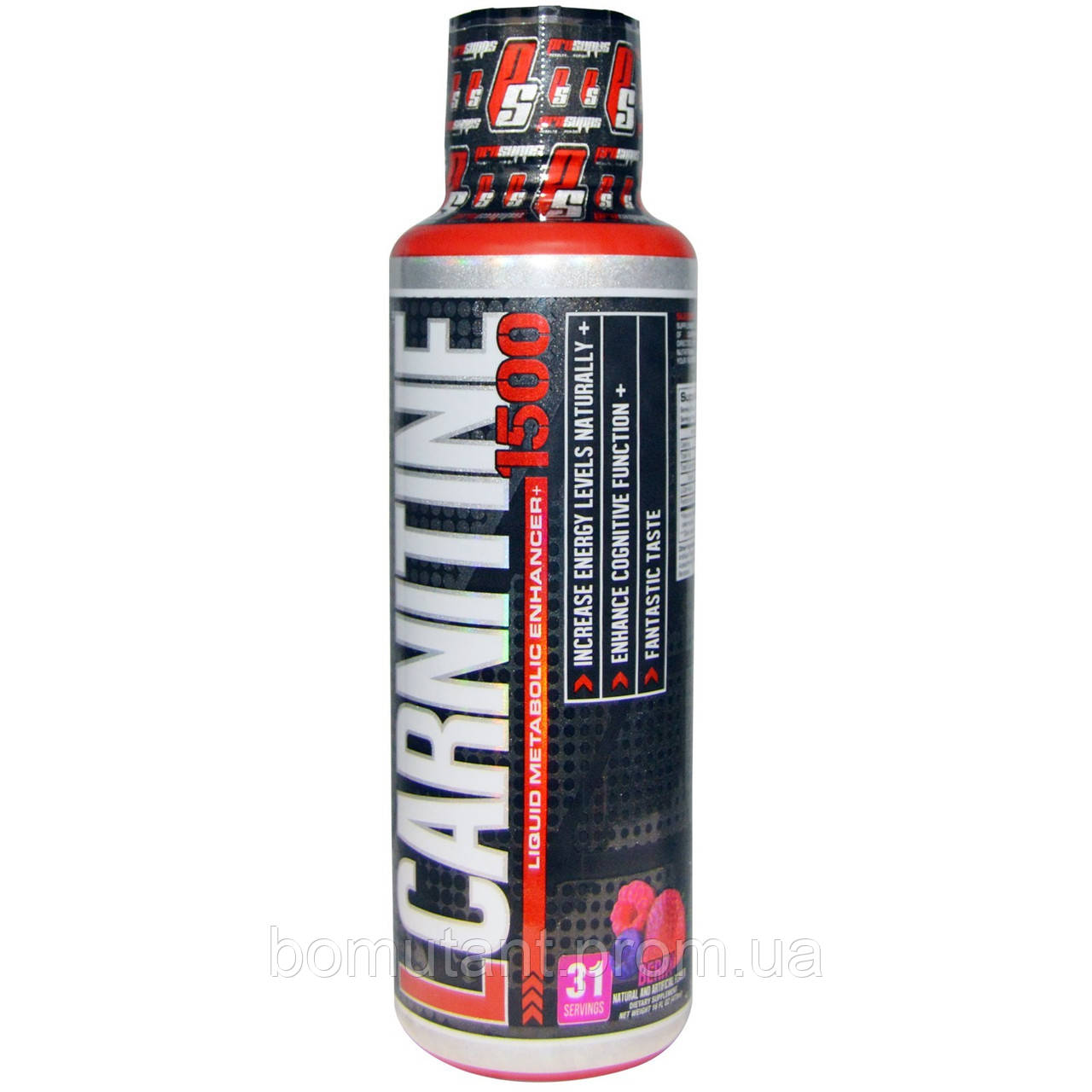 L-Carnitine 1500 473 ml blue razz Pro Supps