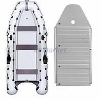 Kolibri Акция! Лодка надувная моторная Kolibri КМ-450DSL и алюминиевый пайол со стрингерами. В подарок любые аксессуары к лодке на сумму 3% от