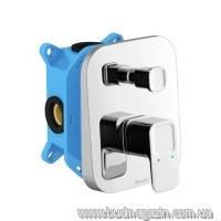 Смеситель скрытого монтажа с переключателем ванна/душ, для R-box Ravak 10° TD 065.00