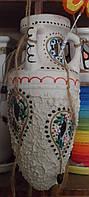 Ваза-кашпо керамическая подвесная