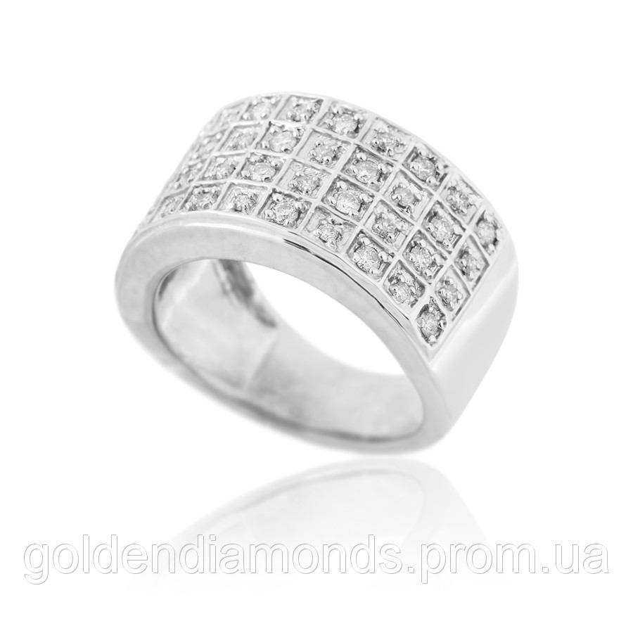 Золотое кольцо с бриллиантами С13Л1№48