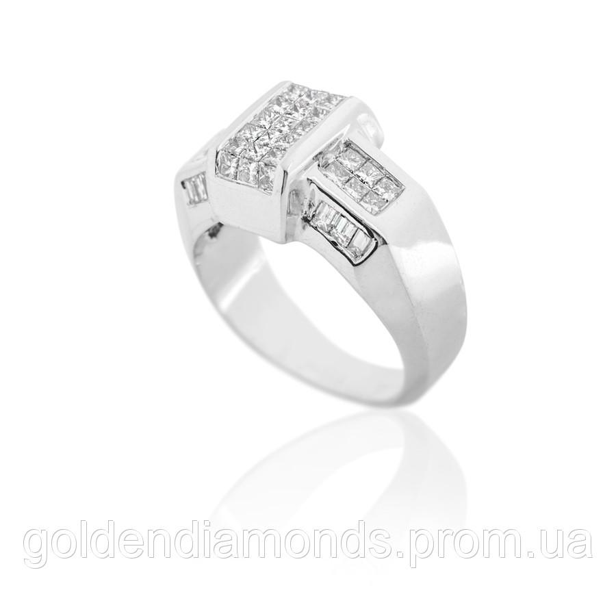 Золоте кільце з діамантами С13Л1№46