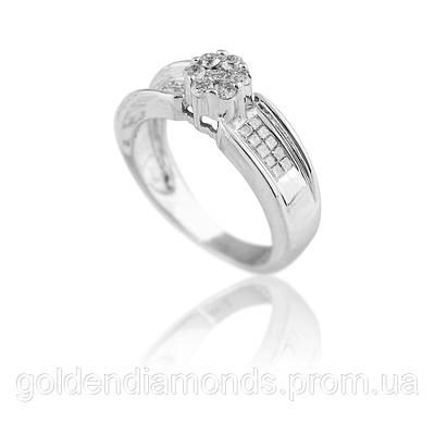 Золотое кольцо с бриллиантами С13Л1№5