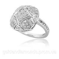 Золотое кольцо с бриллиантами С13Л1№21