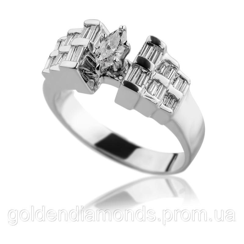 Золотое кольцо с бриллиантами С15Л1№21