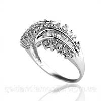 Золотое кольцо с бриллиантами С15Л1№9
