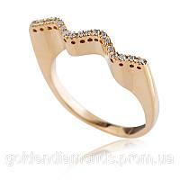 Золотое кольцо с бриллиантами С15Л1№5