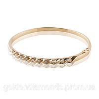 Женский браслет из желтого золота с бриллиантами С13Л2№14