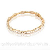 Женский браслет из желтого золота с бриллиантами С12Л2№20