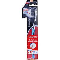COLGATE  Зубная щетка Шелковые нитки с древес. углем