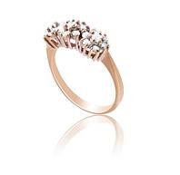 Золотое кольцо с бриллиантами С16Л1№23