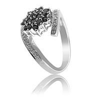 Золотое кольцо с бриллиантами С17Л1№10