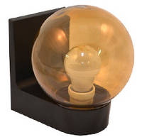 Светильник настенный сферический (пластиковый) 613 Шар дымчатый гладкий
