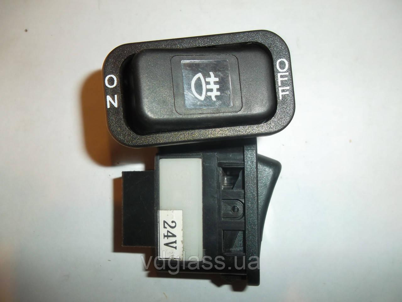 Кнопка включения противотуманных фар 24V FAW 1051, 1061