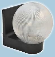 Светильник настенный сферический (пластиковый) 623 Шар прозрачый ребристый