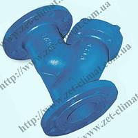 Фильтр осадочный фланцевый ду 80 ZET с магнитным уловителем
