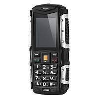 """Противоударный телефон AGM M1, 64MB+128MB Черный 2"""" 3G 2570mAh для активного отдыха защита от воды и пыли ip68"""