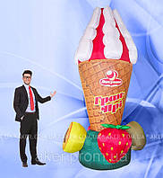 Пневмоконструкция  Мороженое