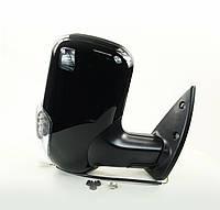 Зеркало боковое ГАЗ 3302 нов. обр. с поворот. прав. черное, глянец <ДК>