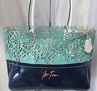 Женская сумочка из натуральной кожи  Velina Fabbiano