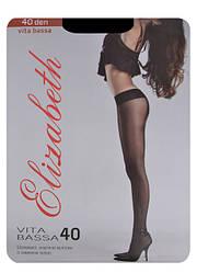 Elizabeth колготки 40 den vita bassa крупным оптом