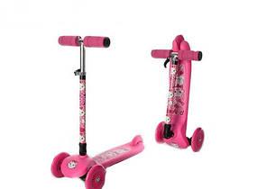 Детский складной самокат-скутер BB